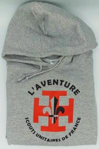 Sweat shirt SUF Aventure gris