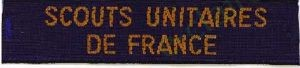 Bande Scouts Unitaires fond Marine